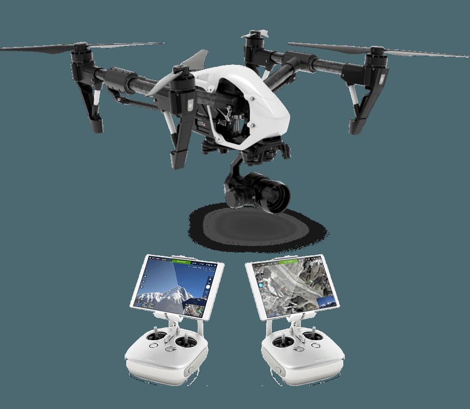 DJI Inspire Dron 4k rezolucija